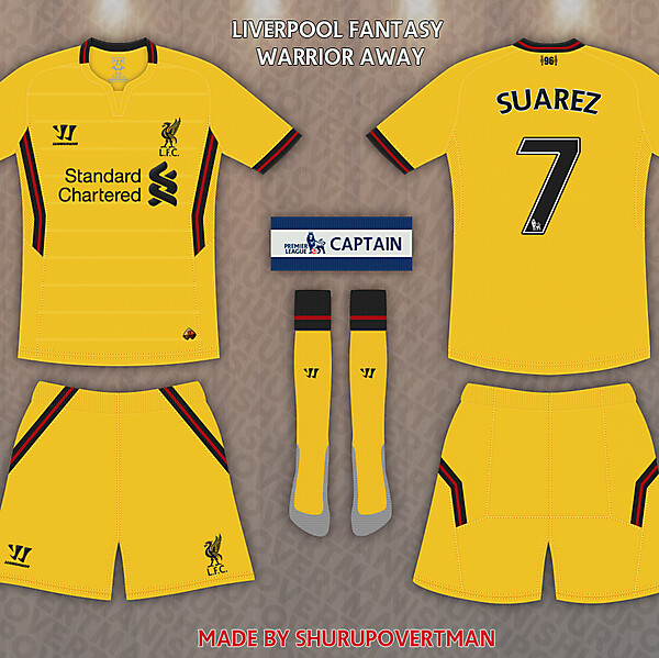 Liverpool Warrior Away Fantasy