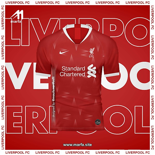 LIVERPOOL X NIKE FANTASY KIT CONCEPT