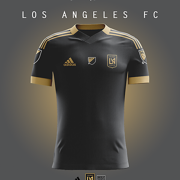 Los Angeles FC - Home kit