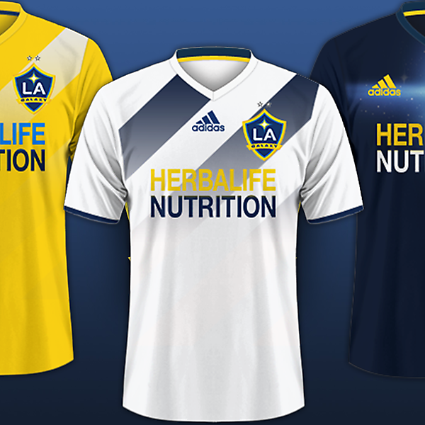 Los Angeles Galaxy / Adidas Kits