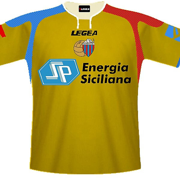 Catania legea away 09/10