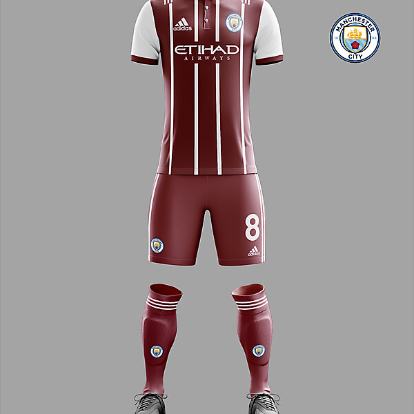 Man City Adidas away