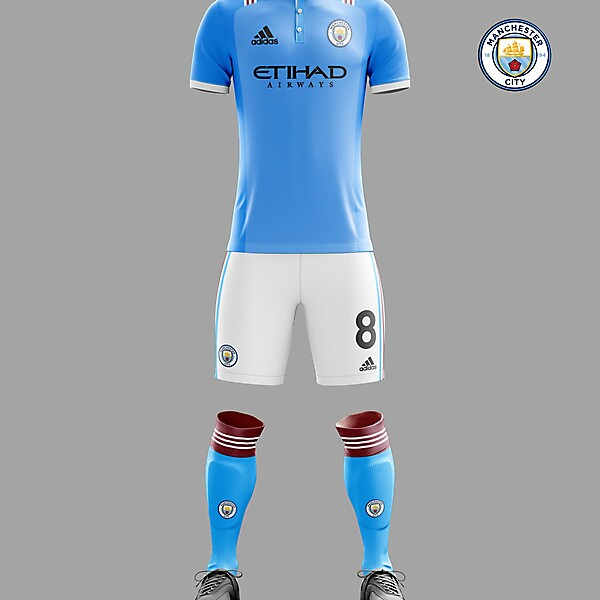 Man City Adidas home concept