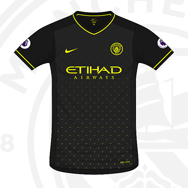 Man City Away 2016/17