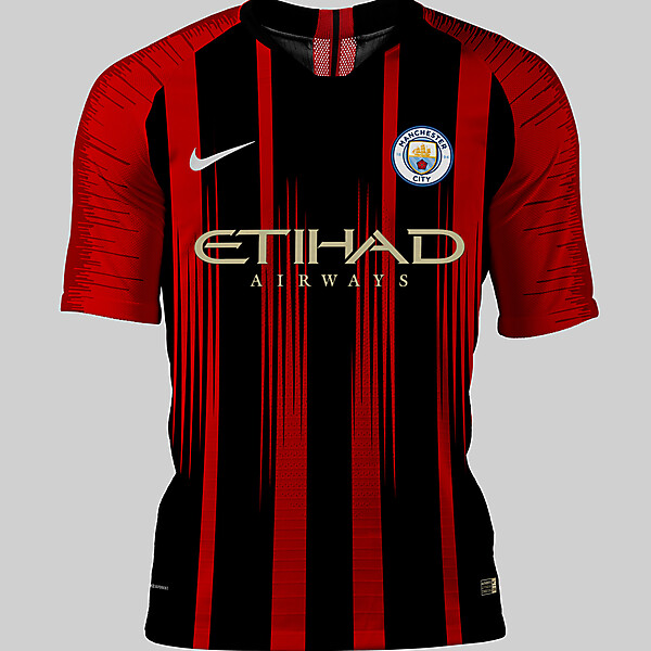 Man City away concept
