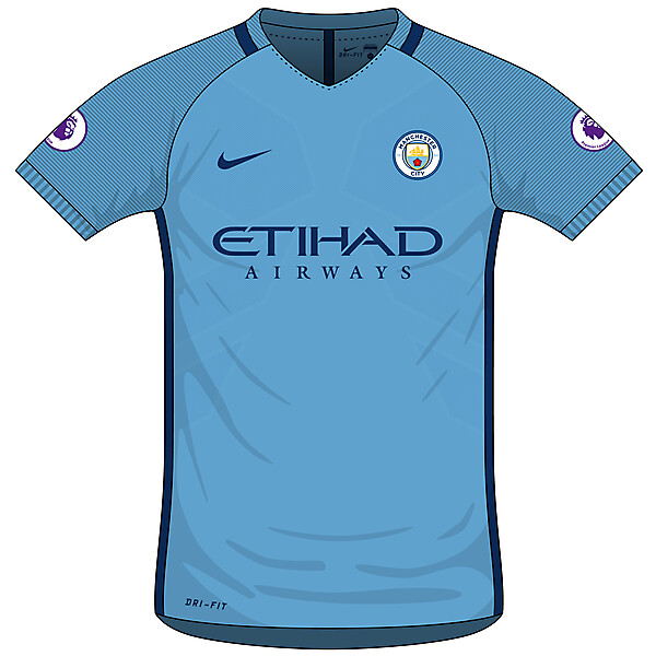 Man City Home 2016/17