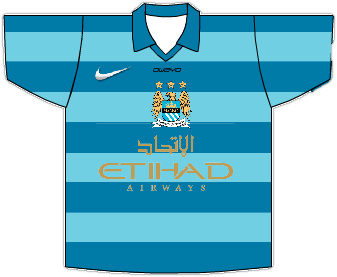 Man City 2013/14 Home Shirt