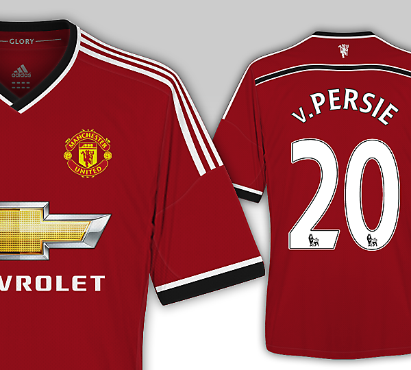 Man United 15/16 Adidas Kit