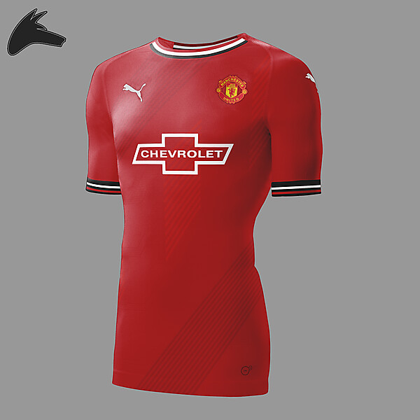 Man United home Puma
