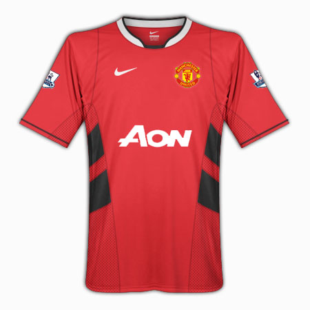 Manchester United 10/11 home