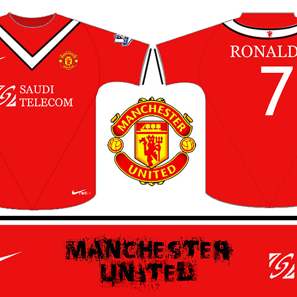 MAN UTD HOME KIT