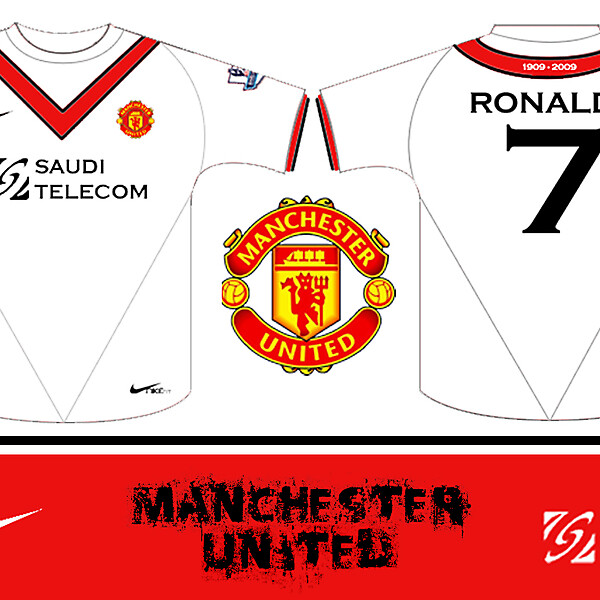 MAN UTD AWAY KIT