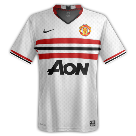 Manchester United away kit