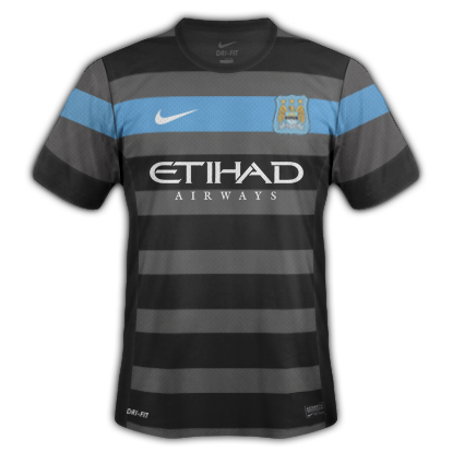 Manchester City Fantasy Away Kit 2014/2015