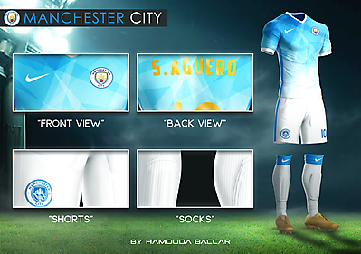 MANCHESTER CITY Football Concept Kit 2018/2019