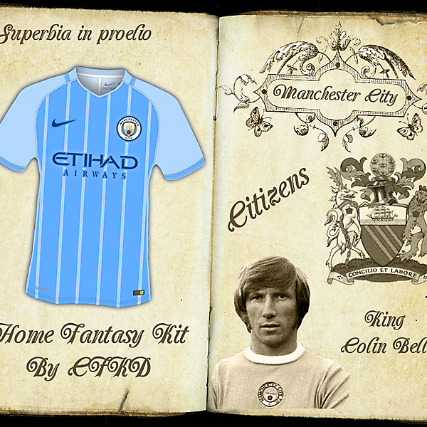 Manchester City Home Fantasy Kit