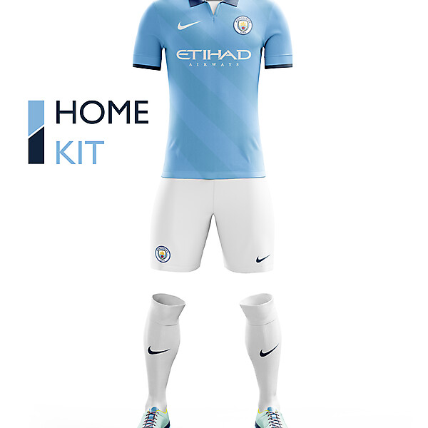 Manchester City Home Kit 16/17