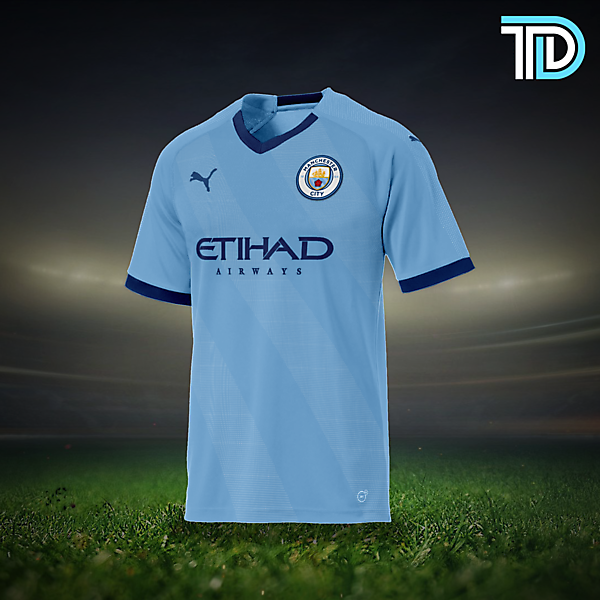 Manchester City Puma Home Concept Kit