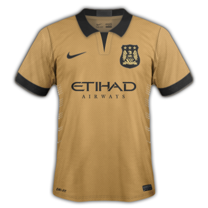 Manchester City Third kit for 2015/16 with Nike