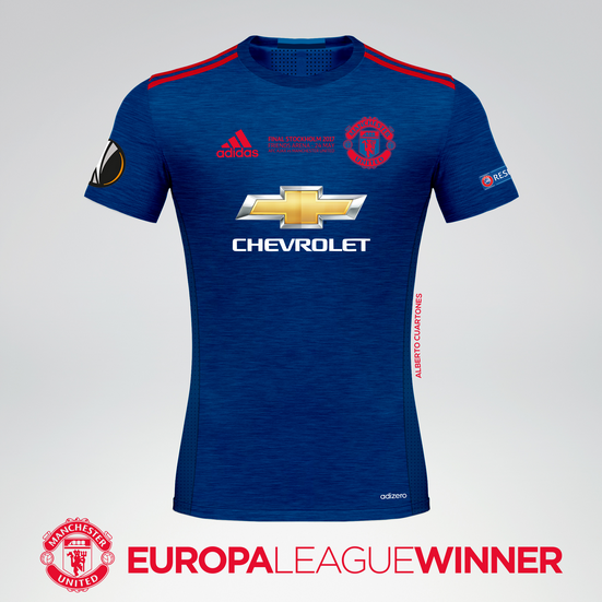 Manchester United 2017 Europa League Winners