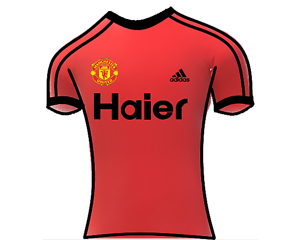 Manchester United 2020/21 home kit design concept