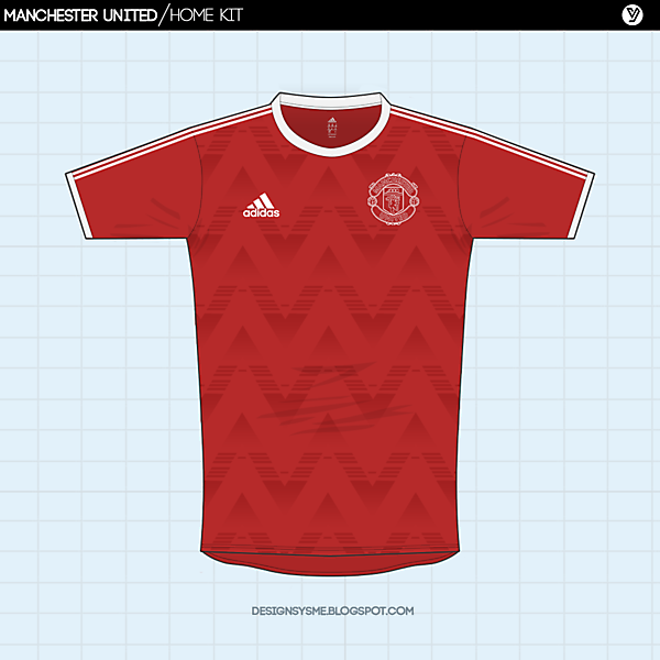 Manchester United | home  kit