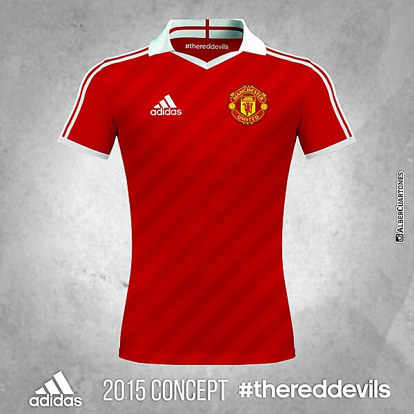 Manchester United Adidas 2015 Home Shirt (Concept)