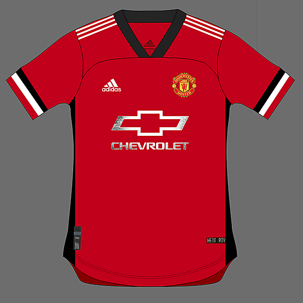 Manchester United adidas home 20/21