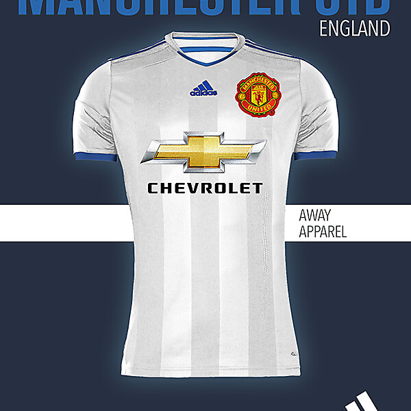 MANCHESTER UNITED AWAY KIT 2015-2016