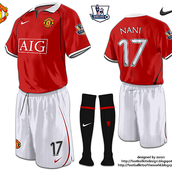 Manchester United fantasy home