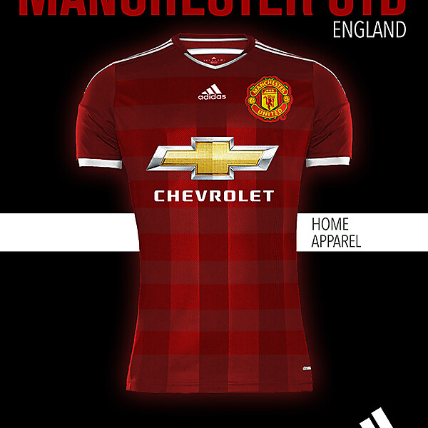 MANCHESTER UNITED HOME KIT 2015-2016