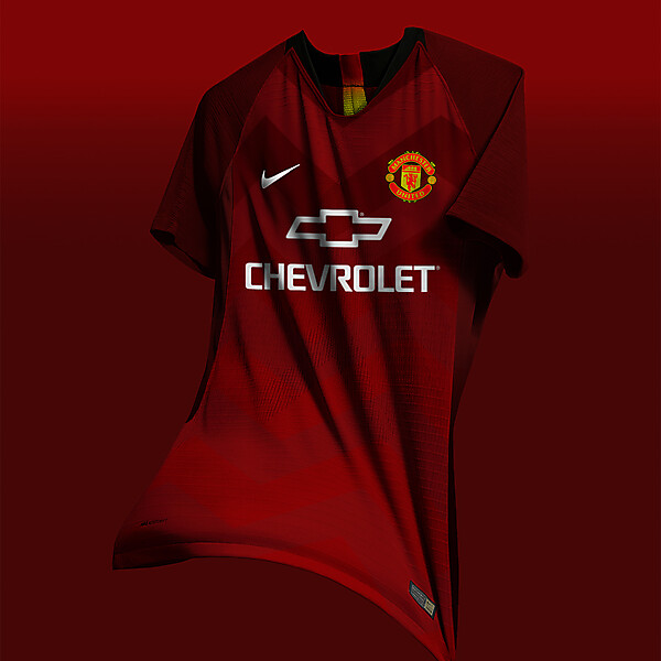 Manchester United Home Kit concept x Nike 8fd545657