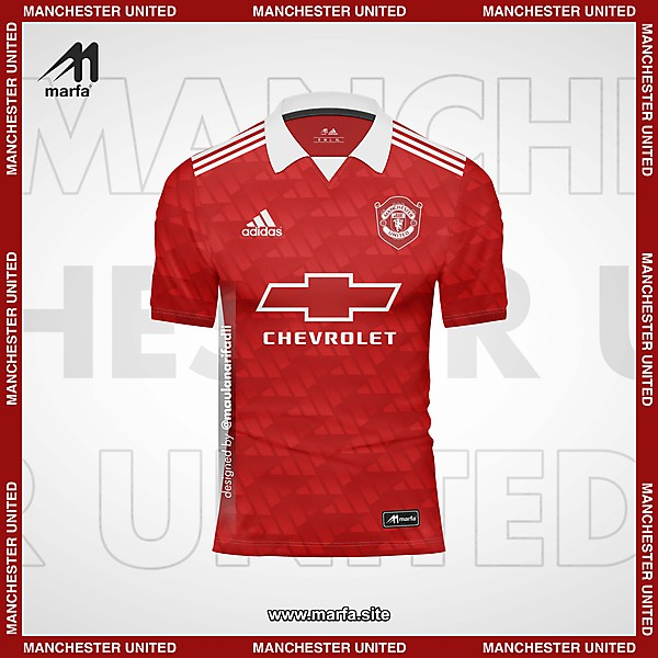 MANCHESTER UNITED X ADIDAS FANTASY KIT CONCEPT