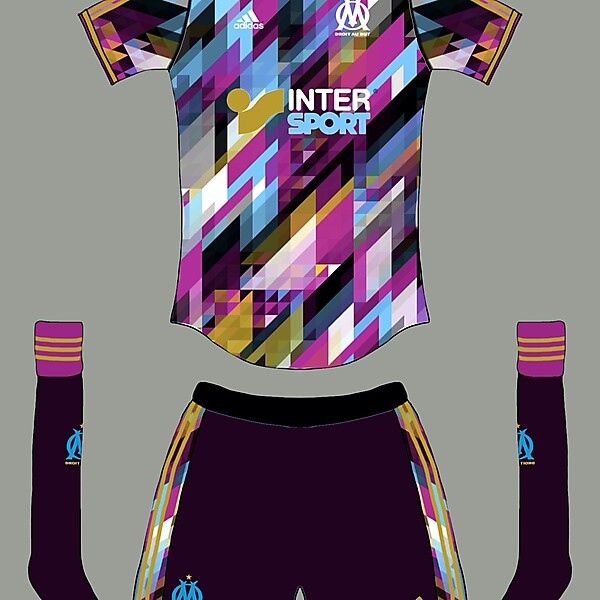 Marseille 5th kit...or is it 6th?