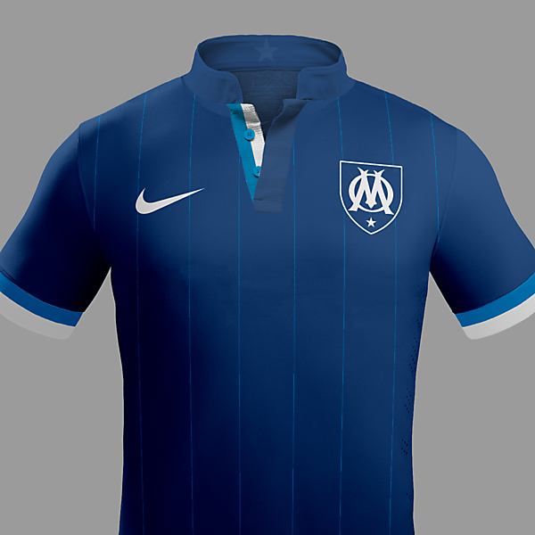 Marseille Fc 2015-/2016 Away Kit / With Nike