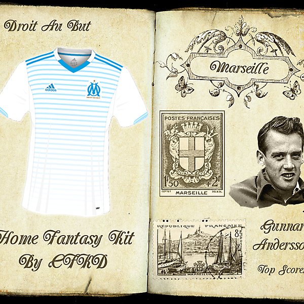 Marseille Home Fantasy Kit