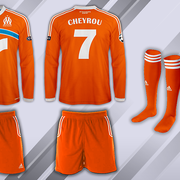 Olympique de Marseille Fantasy European Kit