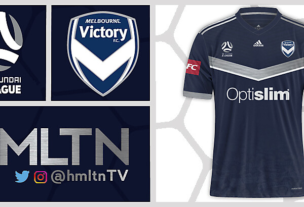Melbourne Victory Home kit