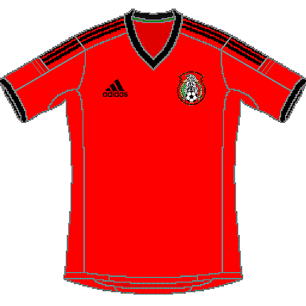 Mexico Adidas World Cup Away Kit