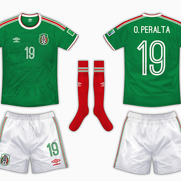Mexico Home Kit - Umbro
