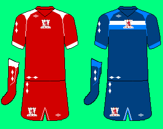 Umbro Midddlesborough Kits