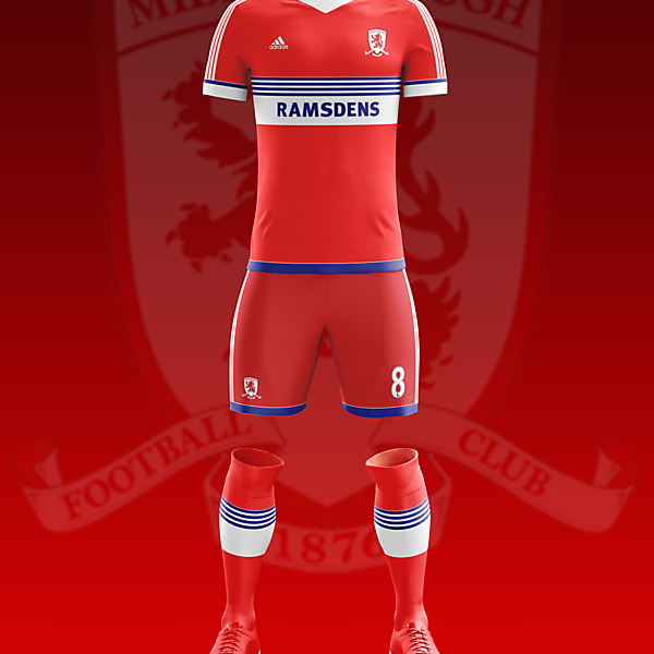 Middlesborough Home 2016-17