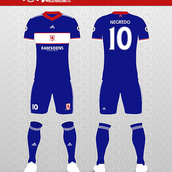 Middlesbrough FC Away