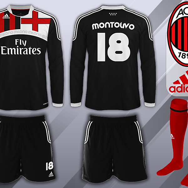 AC MIlan Fantasy Away Kit