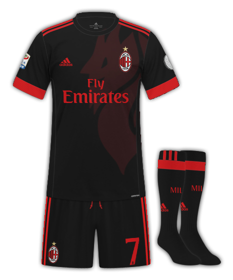Milan third kit