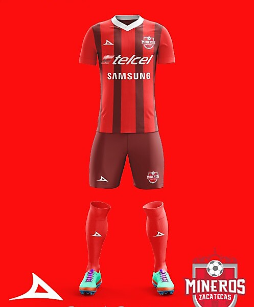 Mineros de Zacatecas 17/18 Pirma Home Kit