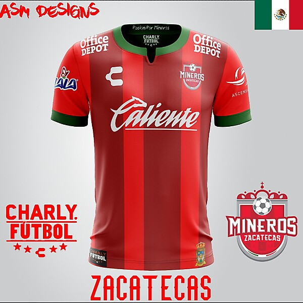 Mineros de Zacatecas Charly 2018 Home kit