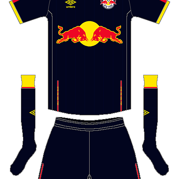 MLS x Umbro - NY Red Bulls Away