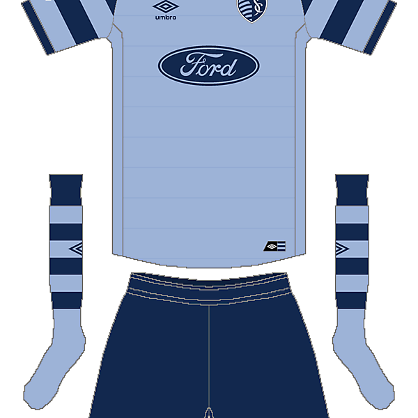 MLS x Umbro - Sporting Kansas City Home