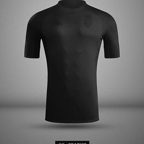 Monaco Third Kit x Kappa | Kombat XX Total Black Concept